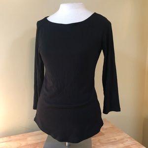 Premise Studio Black Blouse Size Small